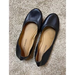 Lucky Brand Leather Ballet Flats